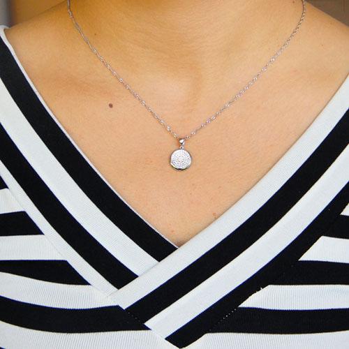 pendentif femme argent zirconium 8301072 pic4