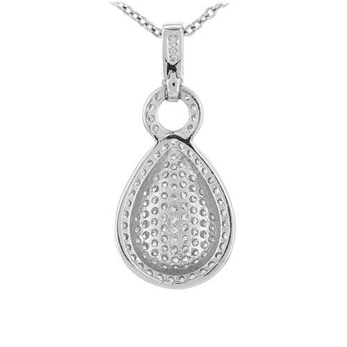 pendentif femme argent zirconium 8301074 pic3