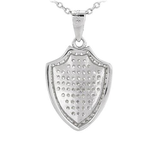 pendentif femme argent zirconium 8301076 pic3