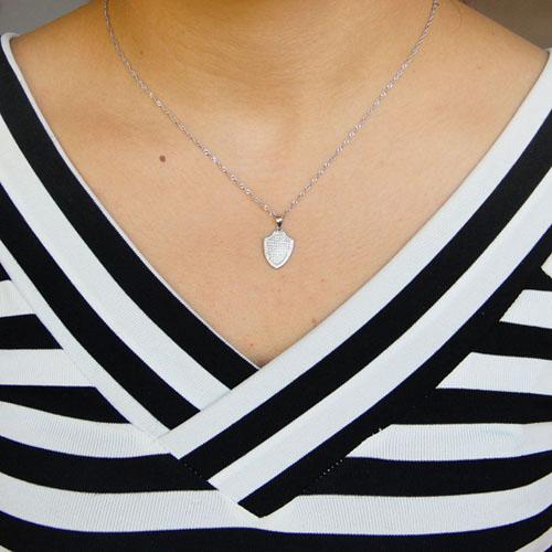 pendentif femme argent zirconium 8301076 pic4