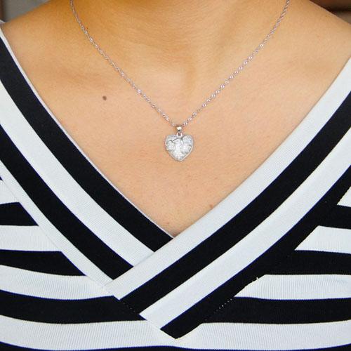 pendentif femme argent zirconium 8301079 pic4