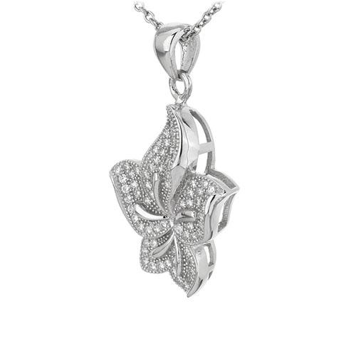 pendentif femme argent zirconium 8301082 pic2