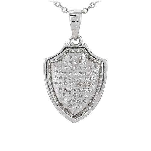 pendentif femme argent zirconium 8301085 pic3