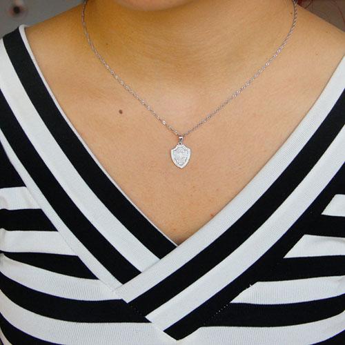 pendentif femme argent zirconium 8301085 pic4