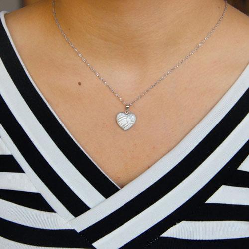 pendentif femme argent zirconium 8301087 pic4