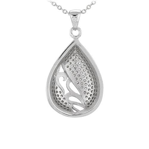pendentif femme argent zirconium 8301091 pic3