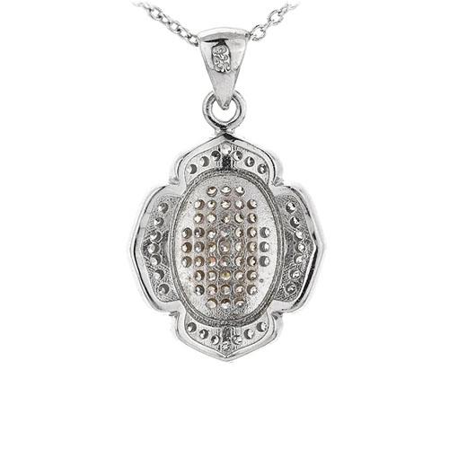 pendentif femme argent zirconium 8301093 pic3
