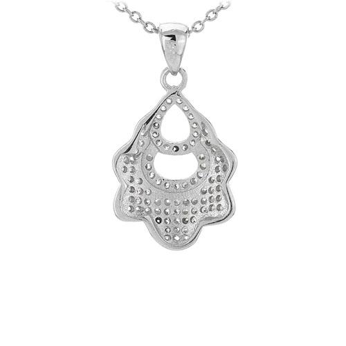 pendentif femme argent zirconium 8301095 pic3