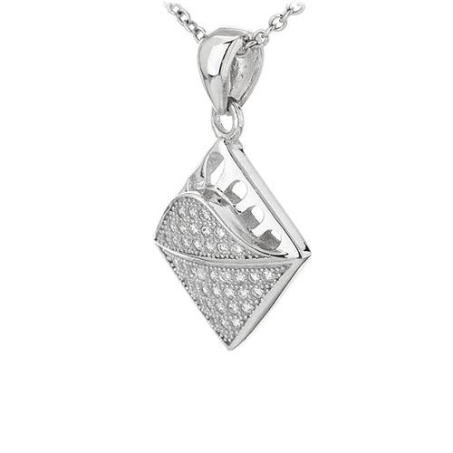 pendentif femme argent zirconium 8301096 pic2