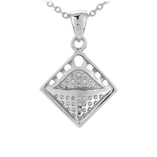 pendentif femme argent zirconium 8301096 pic3