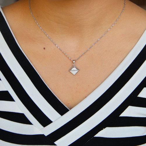 pendentif femme argent zirconium 8301096 pic4