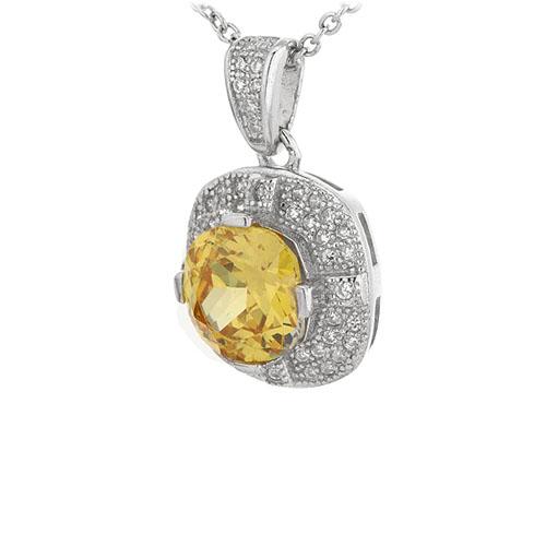 pendentif femme argent zirconium 8301101 pic2