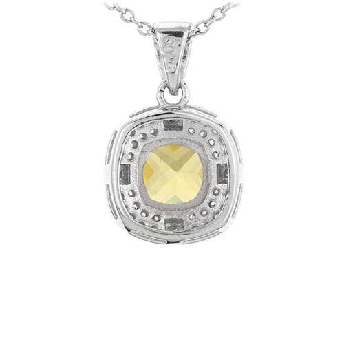 pendentif femme argent zirconium 8301101 pic3