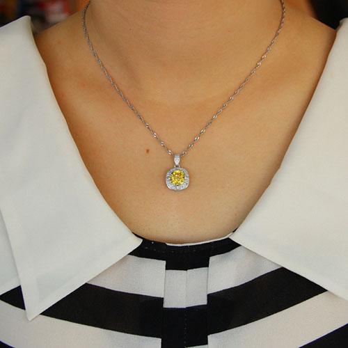 pendentif femme argent zirconium 8301101 pic4
