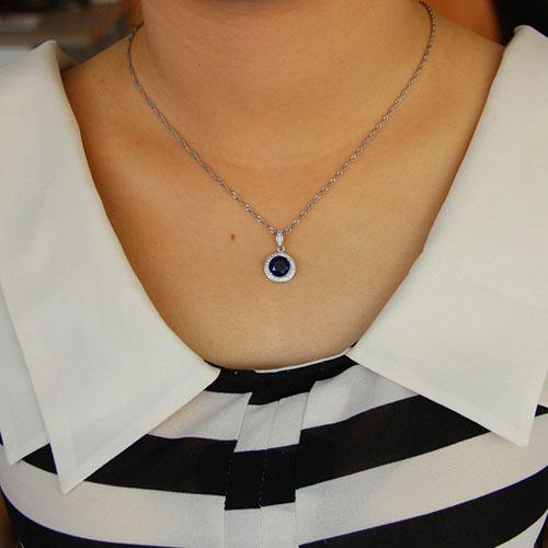 pendentif femme argent zirconium 8301102 pic4
