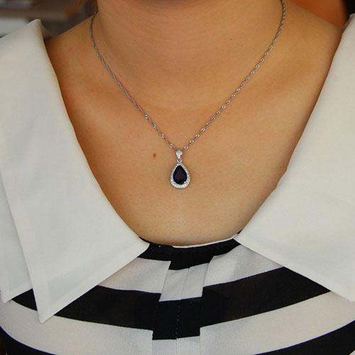 pendentif femme argent zirconium 8301103 pic4