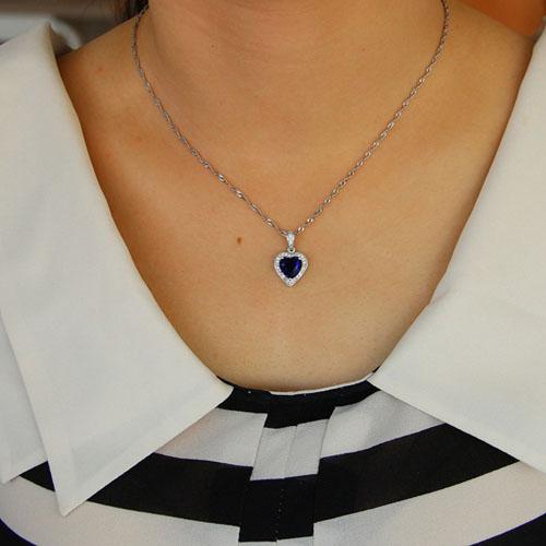pendentif femme argent zirconium 8301104 pic4