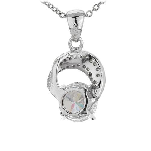 pendentif femme argent zirconium 8301105 pic3