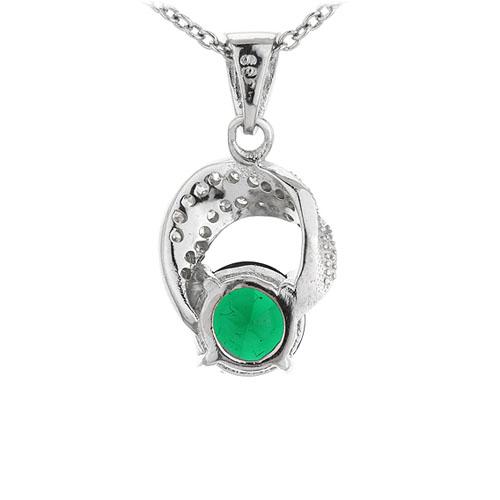 pendentif femme argent zirconium 8301106 pic3