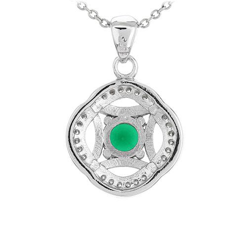 pendentif femme argent zirconium 8301110 pic3