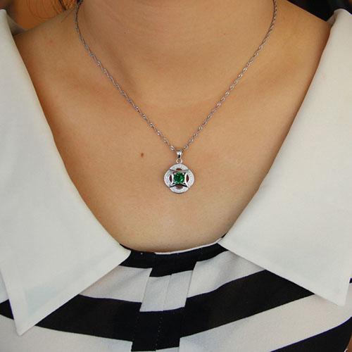 pendentif femme argent zirconium 8301110 pic4