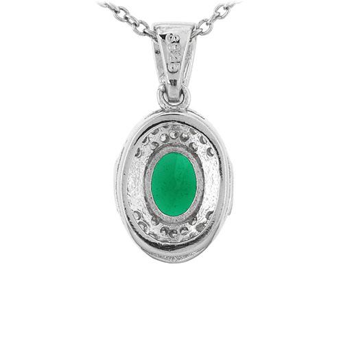 pendentif femme argent zirconium 8301115 pic3