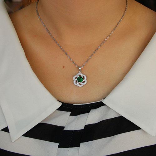 pendentif femme argent zirconium 8301116 pic4