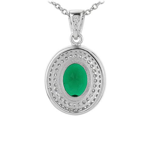 pendentif femme argent zirconium 8301120 pic3