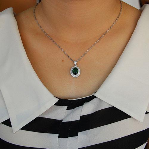 pendentif femme argent zirconium 8301120 pic4