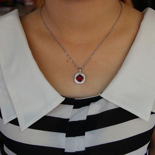 pendentif femme argent zirconium 8301121 pic4