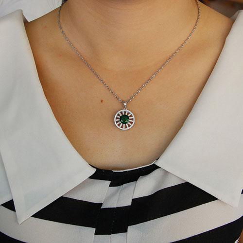 pendentif femme argent zirconium 8301123 pic4