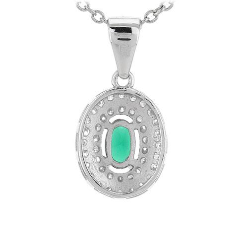 pendentif femme argent zirconium 8301125 pic3