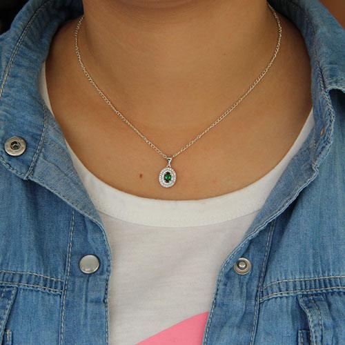 pendentif femme argent zirconium 8301125 pic4