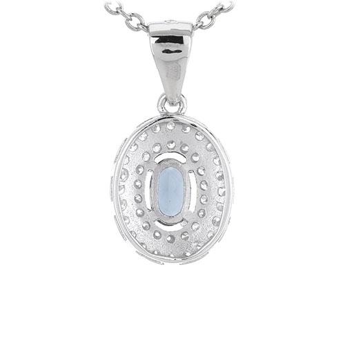 pendentif femme argent zirconium 8301126 pic3