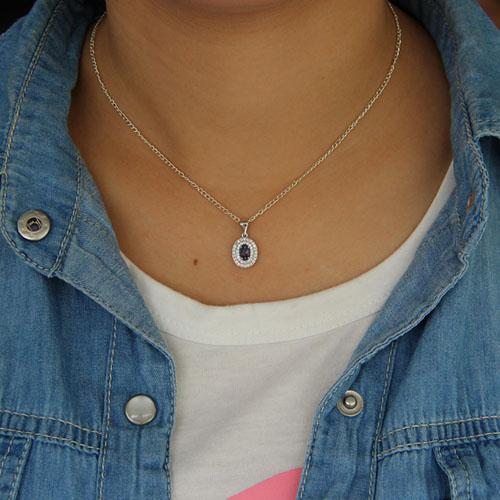 pendentif femme argent zirconium 8301126 pic4