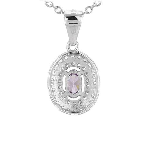 pendentif femme argent zirconium 8301127 pic3