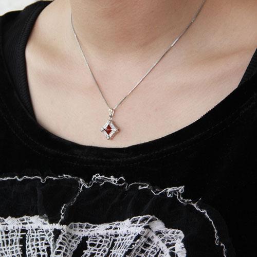 pendentif femme argent zirconium agate 8300379 pic5