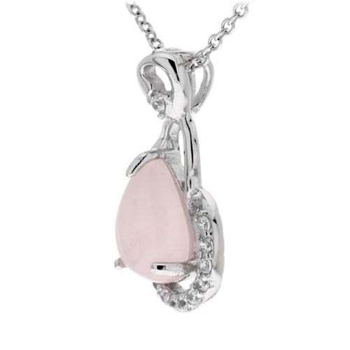 pendentif femme argent zirconium cristal 8300259 pic2