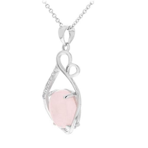 pendentif femme argent zirconium cristal 8300260 pic2