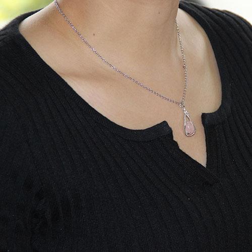pendentif femme argent zirconium cristal 8300260 pic4