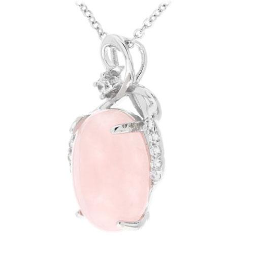 pendentif femme argent zirconium cristal 8300261 pic2