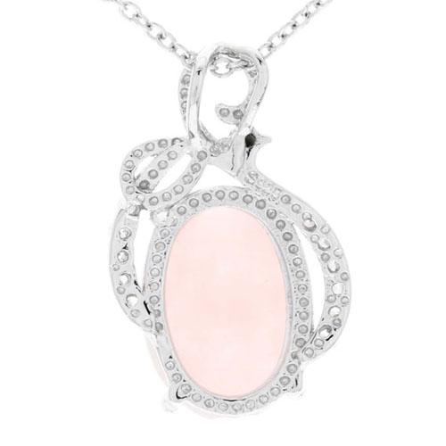 pendentif femme argent zirconium cristal 8300261 pic3