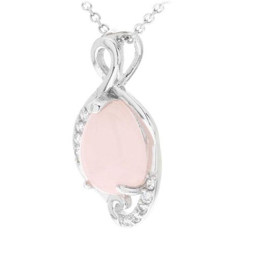 pendentif femme argent zirconium cristal 8300262 pic2