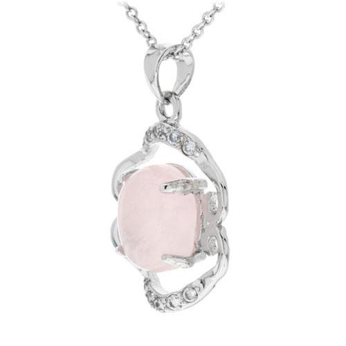 pendentif femme argent zirconium cristal 8300269 pic2