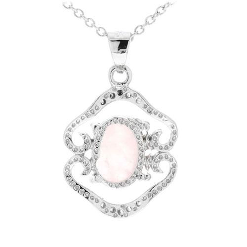 pendentif femme argent zirconium cristal 8300269 pic3