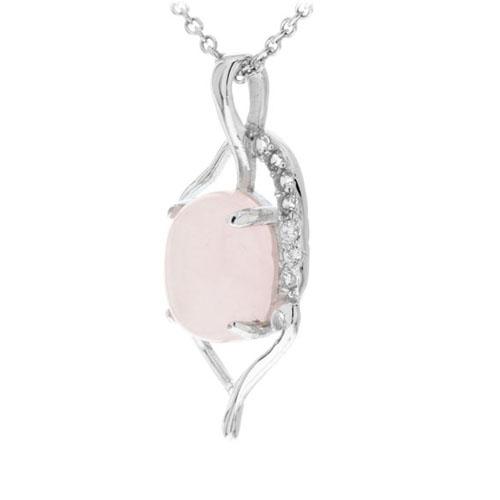 pendentif femme argent zirconium cristal 8300272 pic2