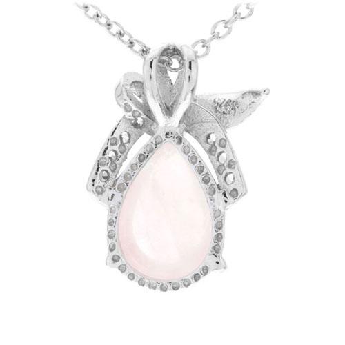 pendentif femme argent zirconium cristal 8300273 pic3