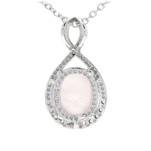 pendentif femme argent zirconium cristal 8300275 pic3