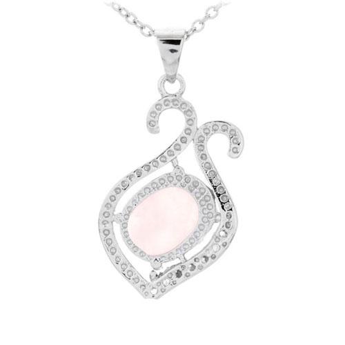 pendentif femme argent zirconium cristal 8300278 pic3