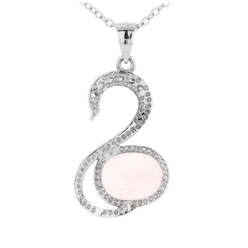 pendentif femme argent zirconium cristal 8300280 pic3